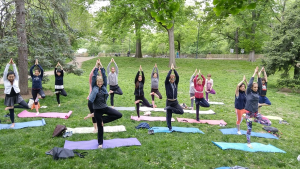Central Park Yoga by Meetup Group