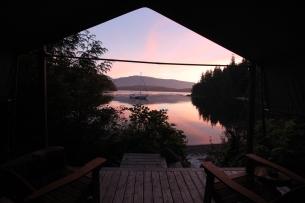Sunset at Orca Dreams