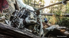 Crashed Plane in Tofino