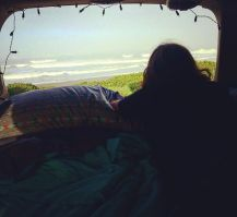 Waking up into this _#camplife ✌️_._._._