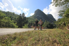 Cycling in Vinales