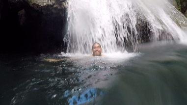 Swimming in Waterfalls