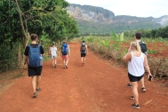 Hiking in Vinales
