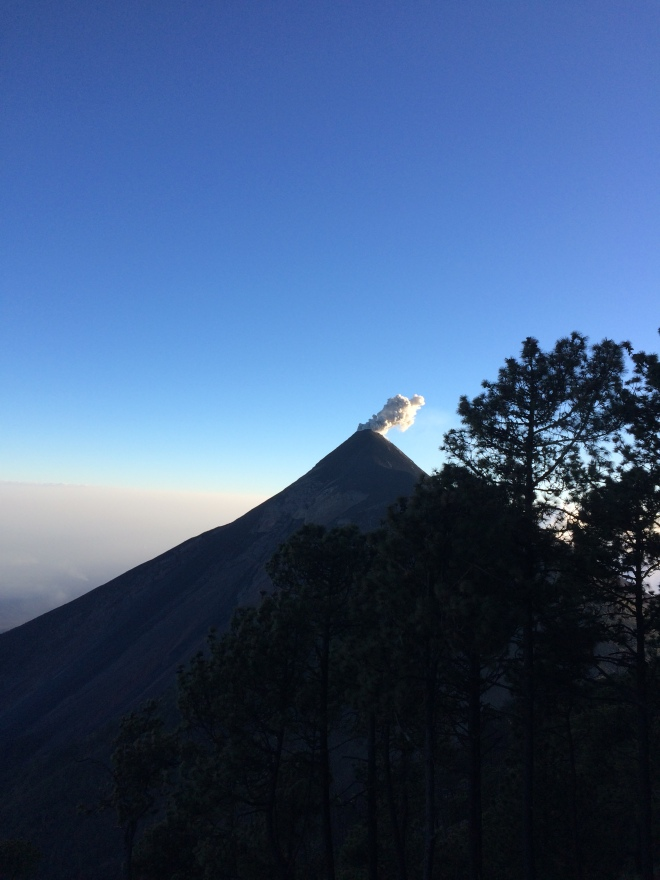 Volcano Fuego, Guatemala