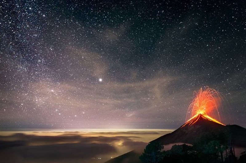 Volcano Acatenango, Gautemala