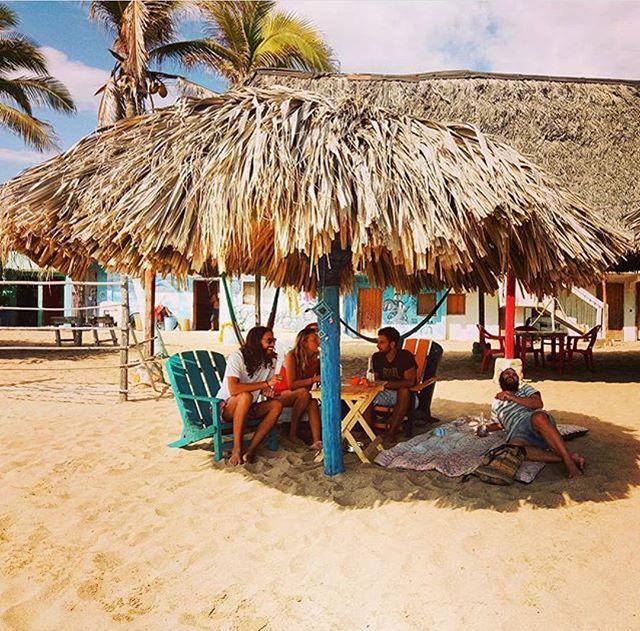 Zipolite beach, Mazunte