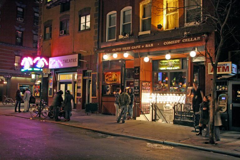Comedy cellar New York City