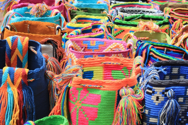 Tradicional Colombian bags
