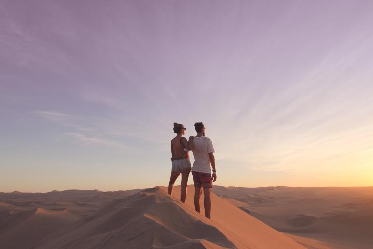Ica desert Peru