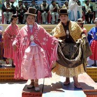 Cholitas: Wrestling Bolivian ladies