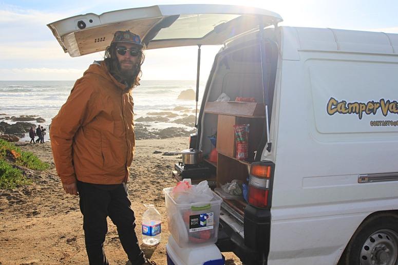 Roadtrip in campervan in Chile