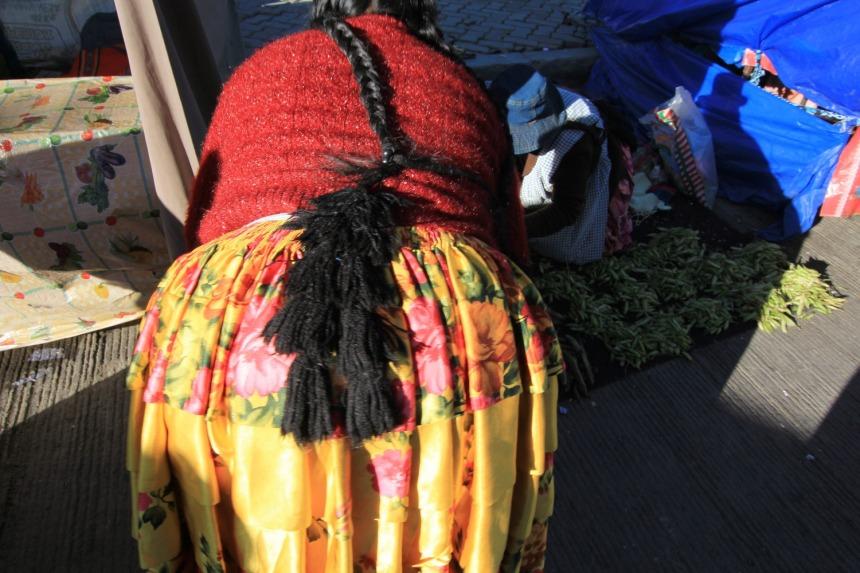 Cholitas, Bolivia